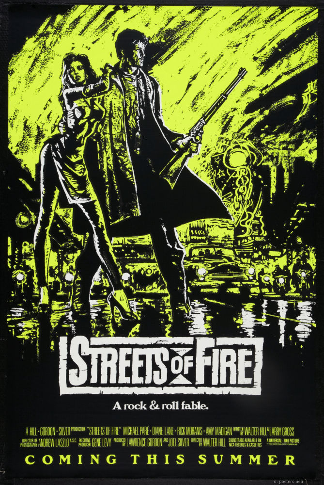 Streets Of Fire Mini Poster