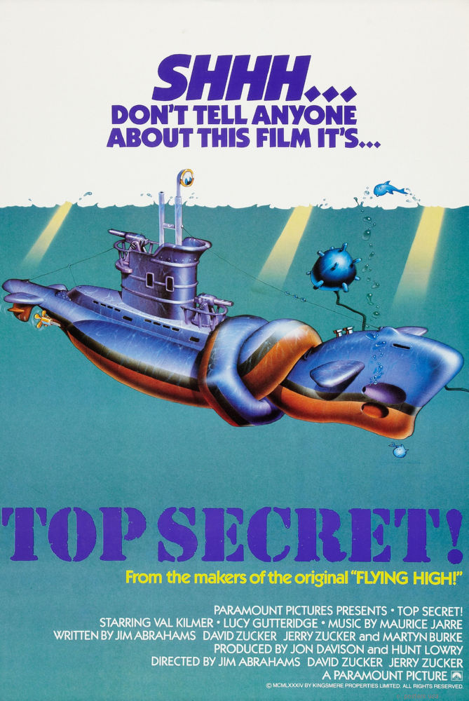 Top Secret Mini Poster