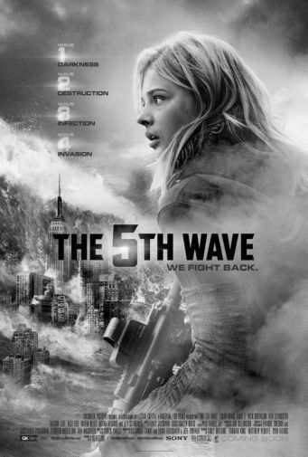 The 5Th Wave black and white poster