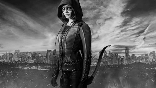 Arrow black and white poster