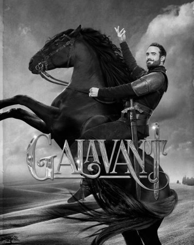 Galavant black and white poster