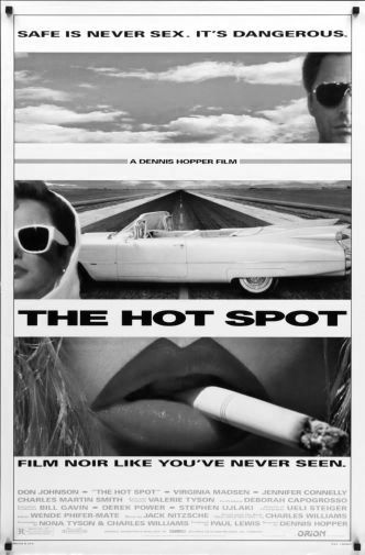 Hot Spot The black and white poster