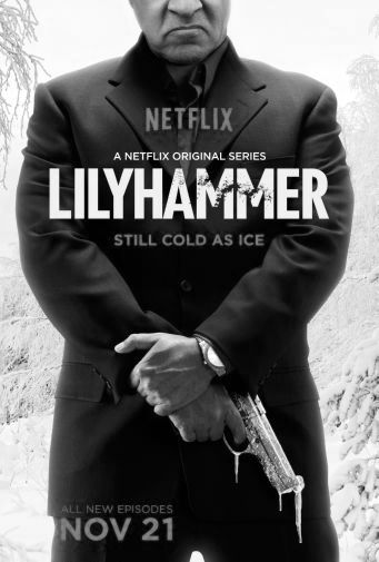 Lilyhammer black and white poster