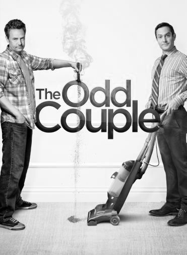 Odd Couple black and white poster