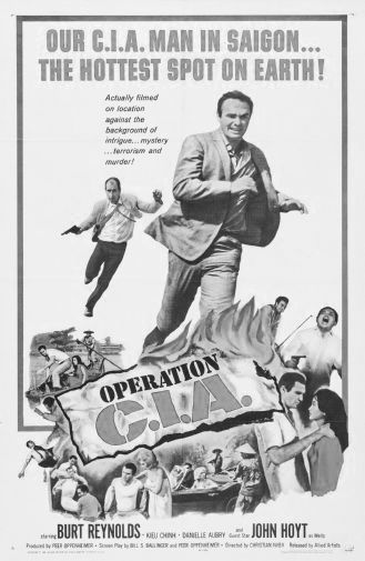 Operation Cia black and white poster