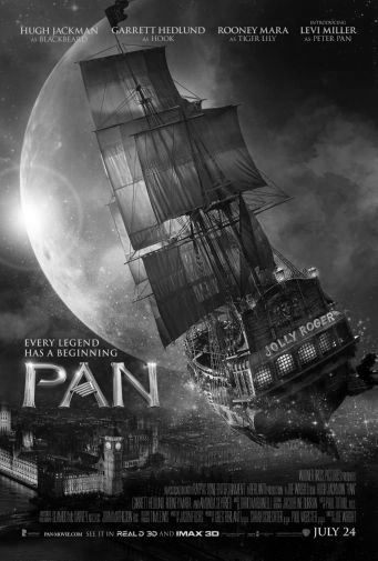 Pan black and white poster