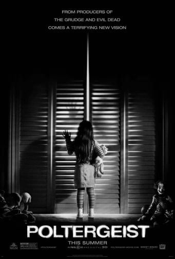 Poltergeist black and white poster