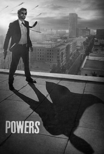 Powers black and white poster