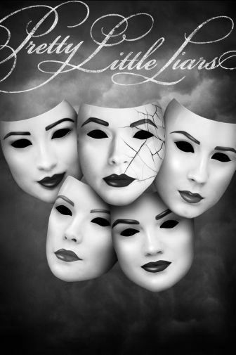 Prettylittleliars black and white poster