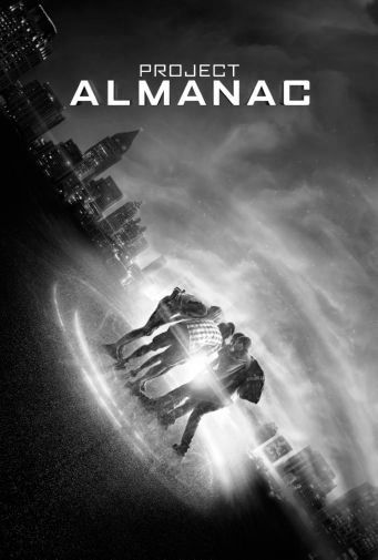 Project Almanac black and white poster