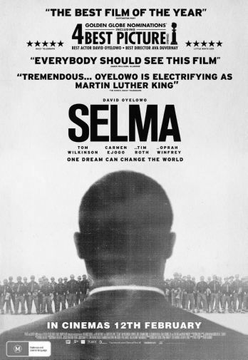 Selma black and white poster