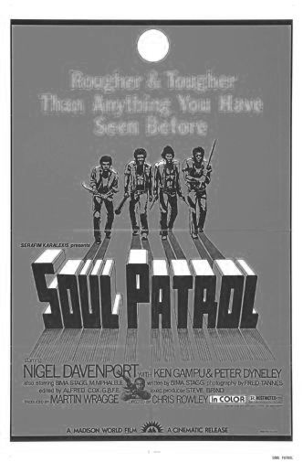 Soul Patrol black and white poster