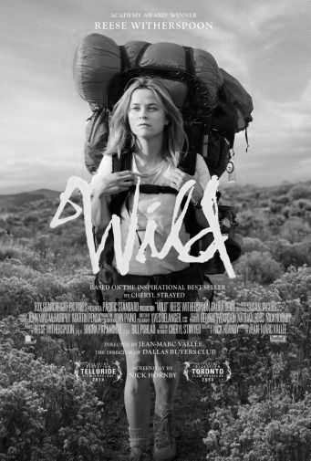 Wild black and white poster