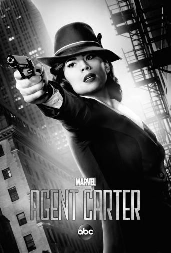 Agent Carter black and white poster