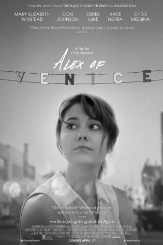 Alex Of Venice black and white poster