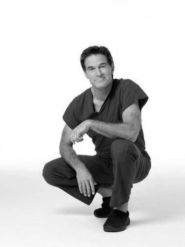 Dr. Oz black and white poster