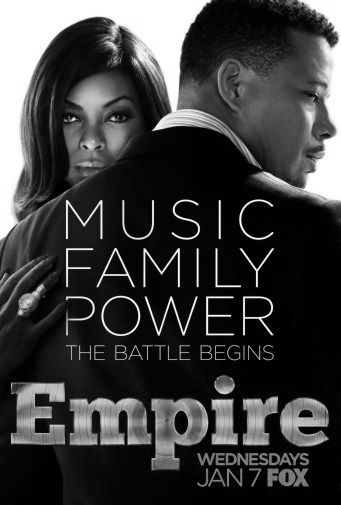 Empire black and white poster