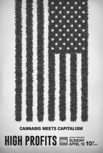 High Profits black and white poster