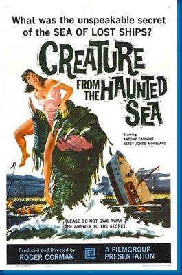 Creature From Haunted Sea Movie Poster 24in x36in