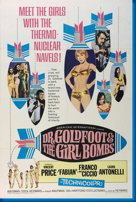 Dr Goldfoot And The  Girlbombs poster