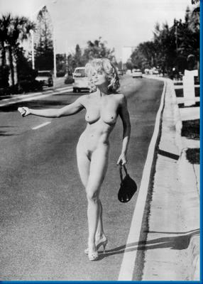 madonna hitchhiking male nude