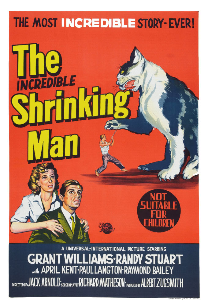 Buy Incredible Shrinking Man Movie poster 11x17s