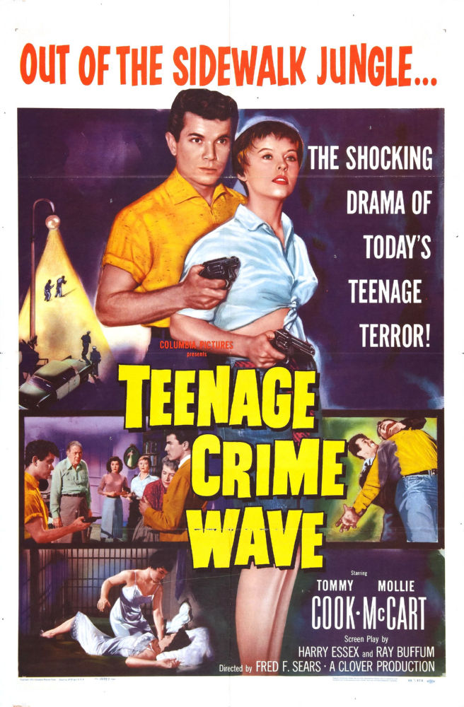 Teenage Crimewave Poster