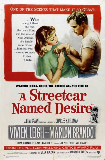 a streetcar named desire movie poster #01