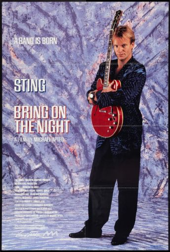 Bring On The Night Poster #01 Sting