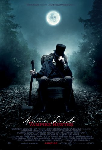 Abraham Lincoln Vampire Hunter Movie Poster