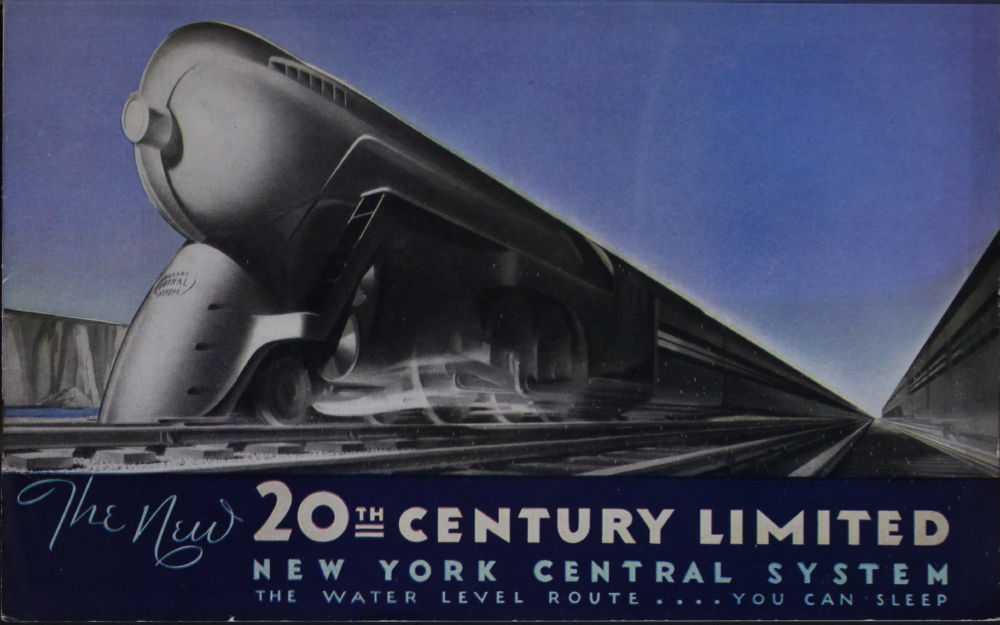 Railroad 20Th Century Limited Railway poster