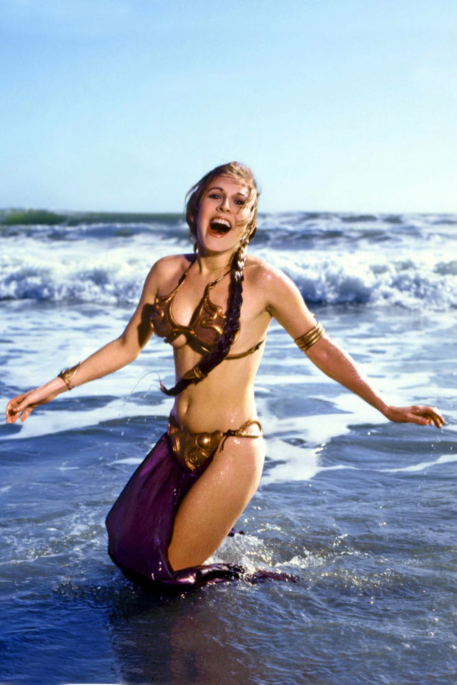 Carrie Fisher poster