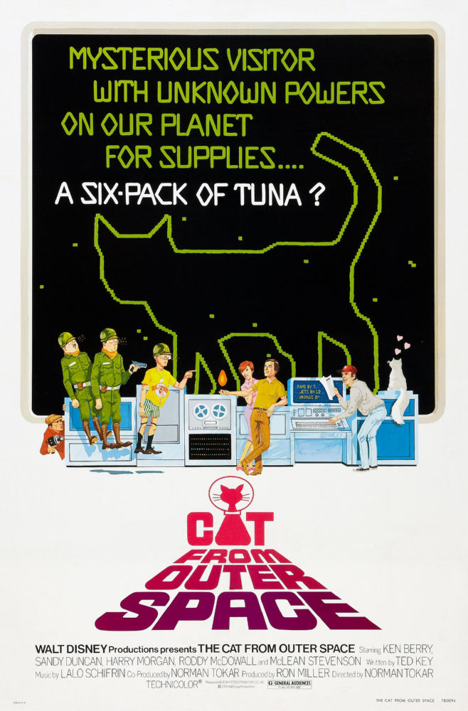 Cat From Outer Space poster