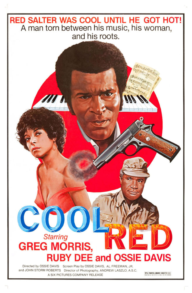 Cool Red poster