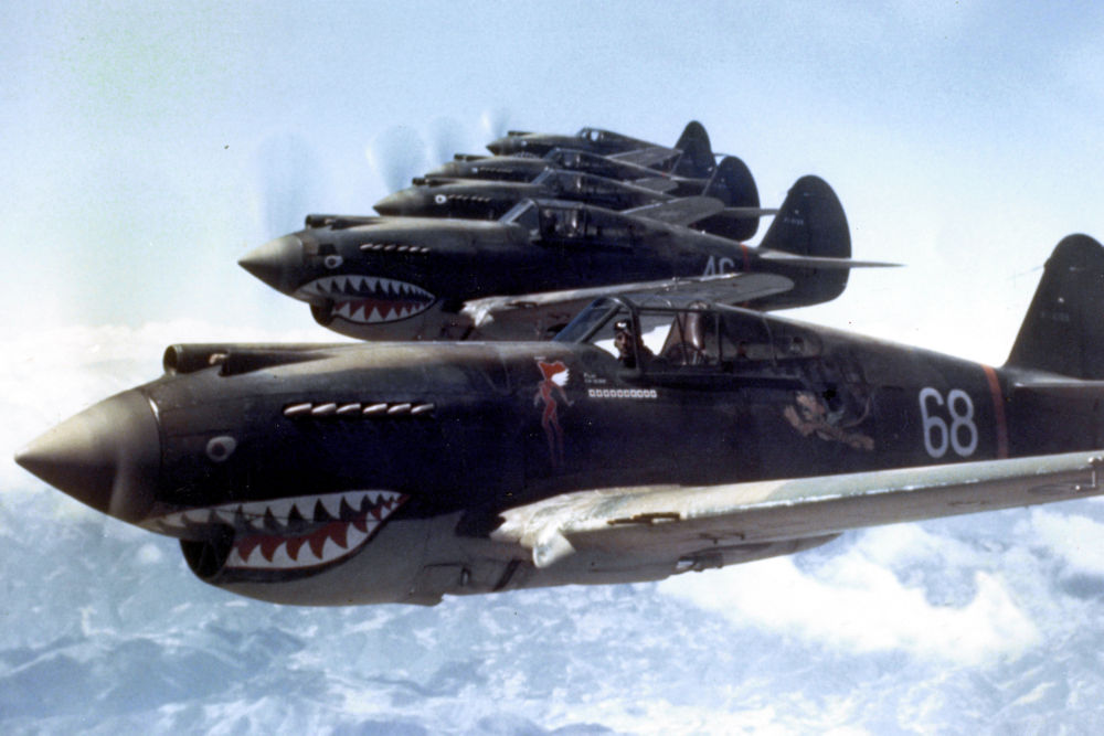 Flying Tigers 1942 Aircraft poster