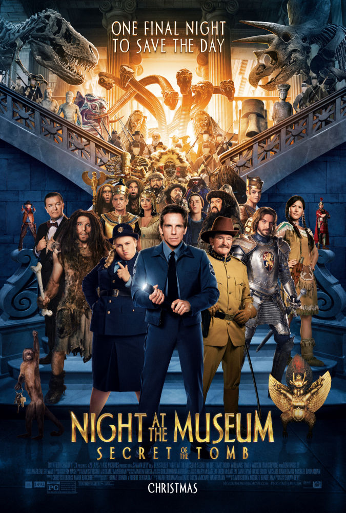Night At Museum poster