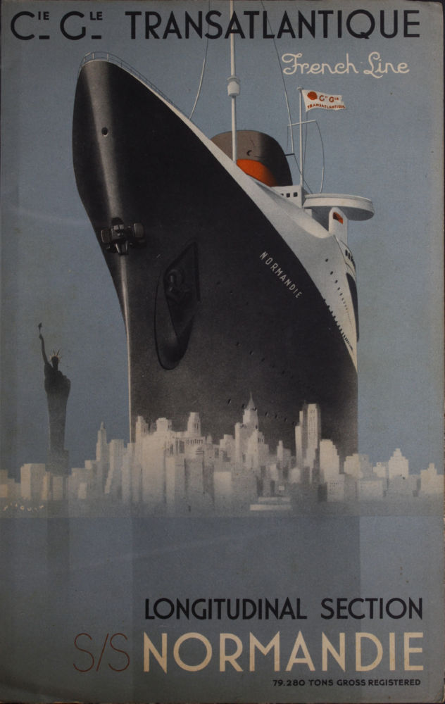 France Cruise Line poster