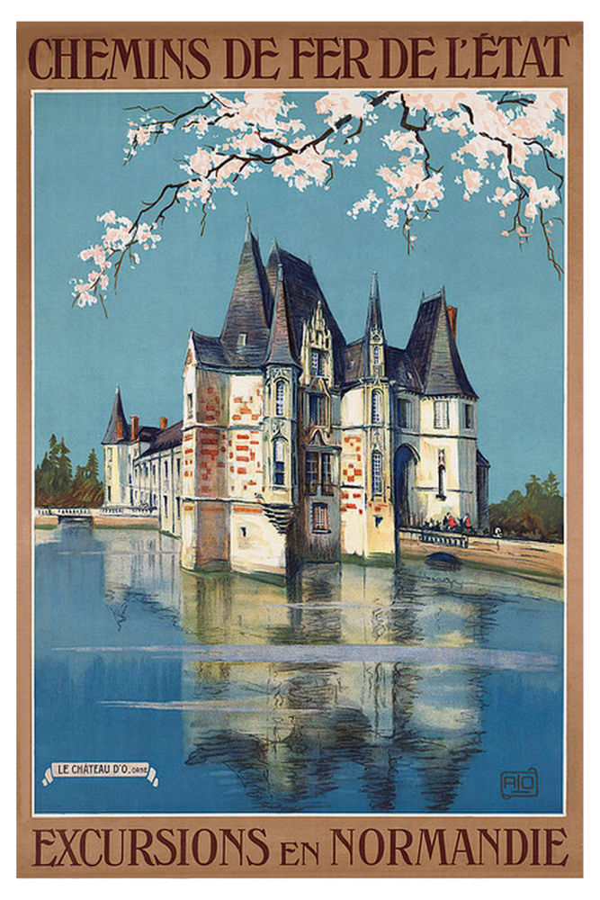 French Railway poster