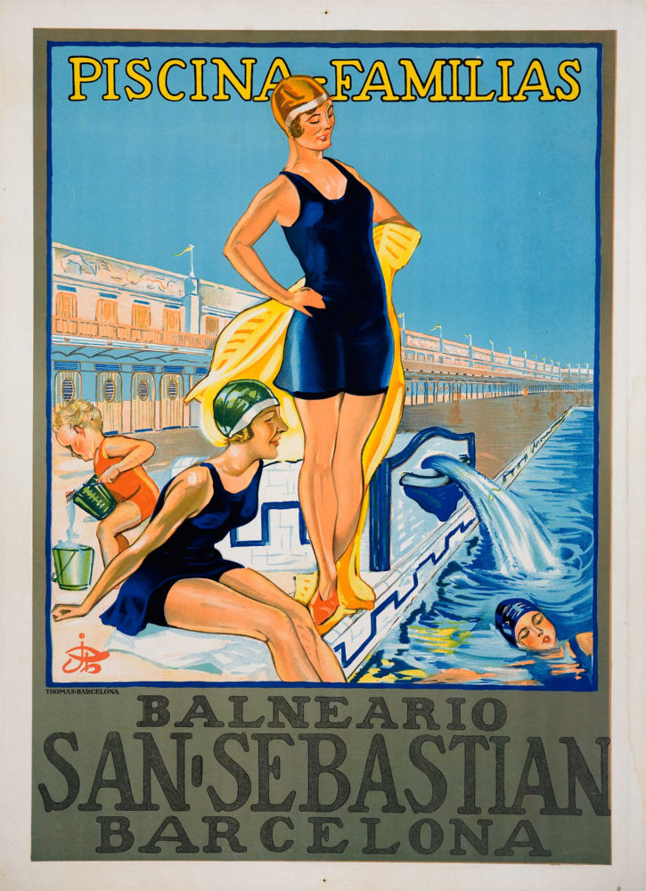 Spain Tourism Advertising poster