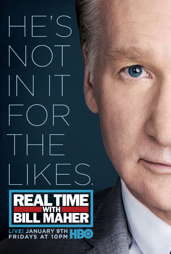 Real Time Bill Maher poster