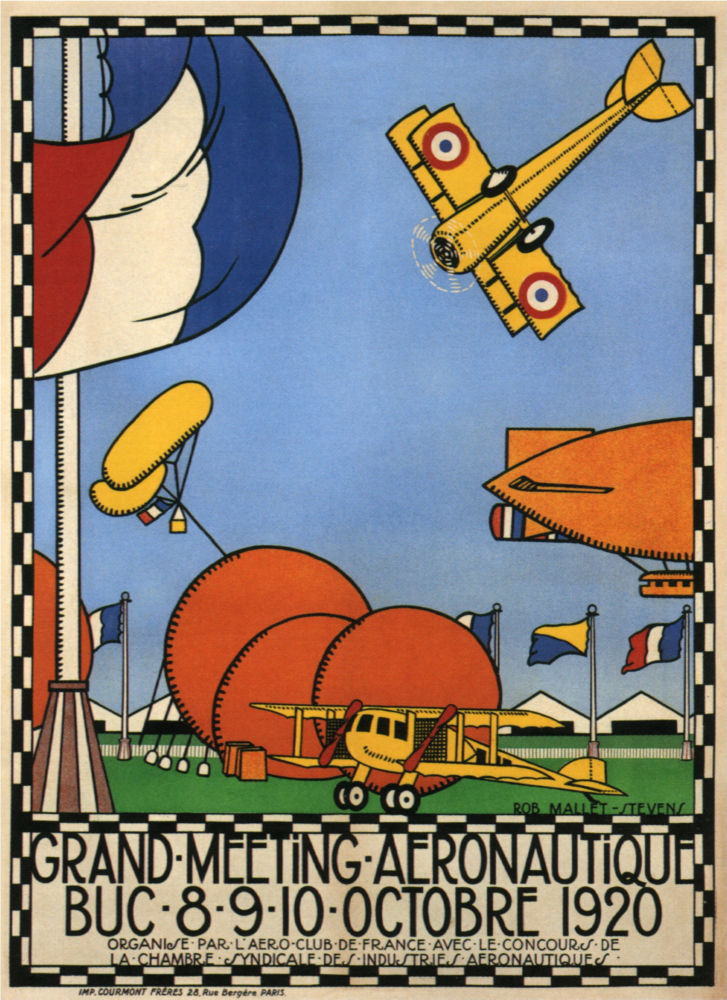 Vintage Planes Fly-In 1920 poster
