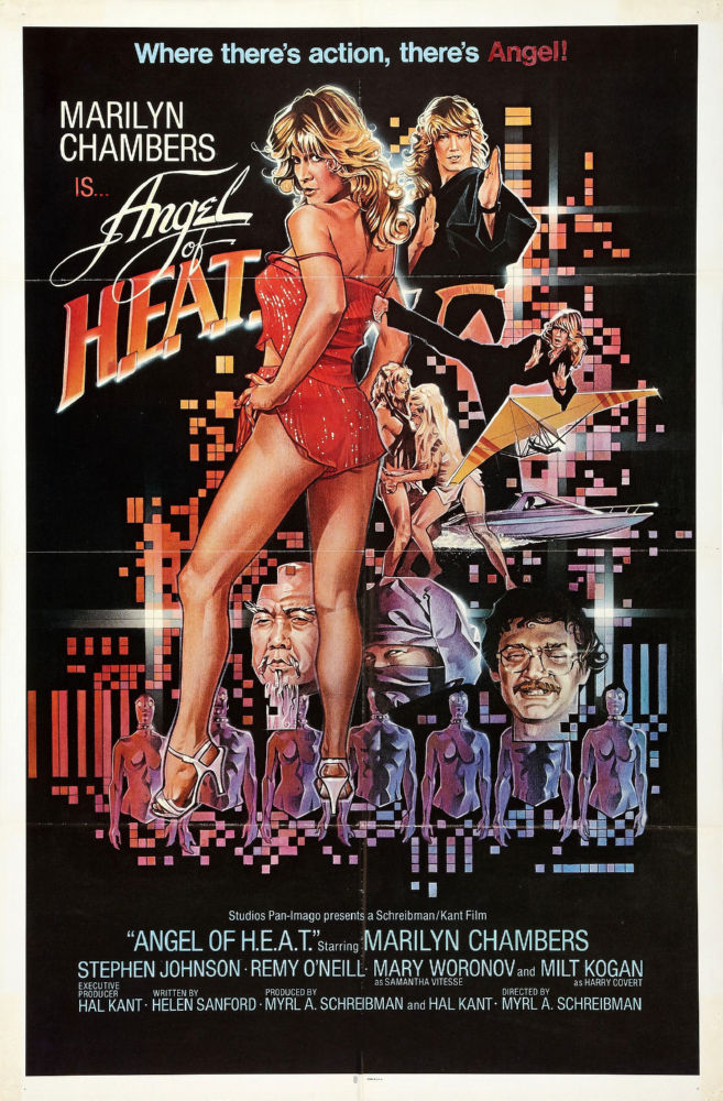 Angel Of Heat poster