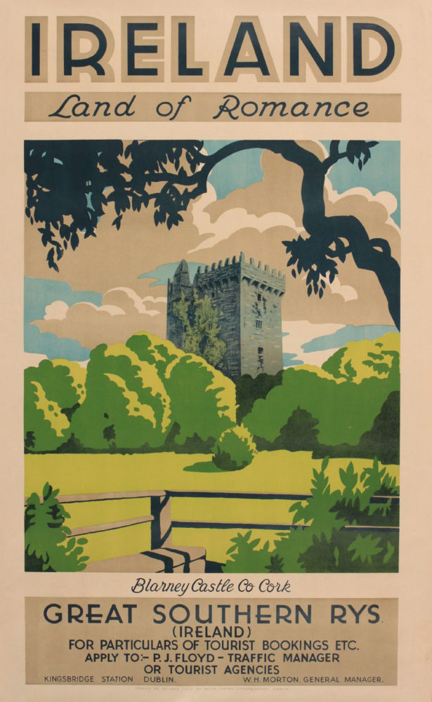 Ireland Land Of Romance 1930 poster